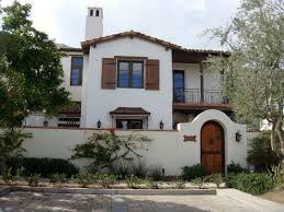 Spanish Style Homes Interior Awesome Spanish Style Homes With White Wall And Fence Paint Color
