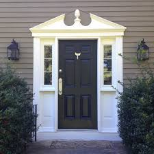 Exterior Door Pediment And Pilasters A Front Door Refresh And One Of My Favorite Tools Shine Your Light