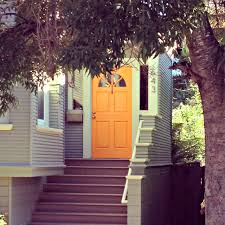 Blue House Orange Door August 2012 Courtney Out Loud