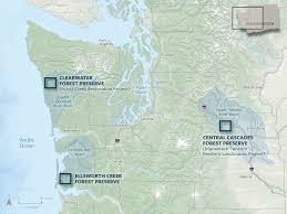 Washington Coast Map Fish Of The Forest Large Wood Benefits Salmon Recovery U2013 Cool