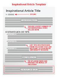 inspirational article template jpg