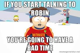 Robin Meme - not a robin meme dankmemez