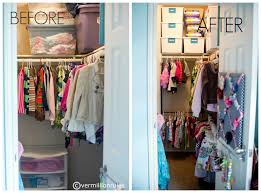 Kid Friendly Closet Organization   organizing a kid friendly closet