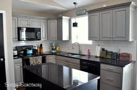 kitchens with gray cabinets kitchen gray painted kitchen cabinets with black liances granite
