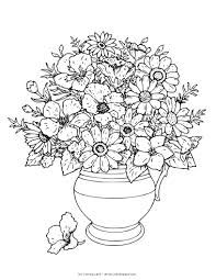 complicated flower coloring pages i love fun pinterest boquet