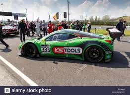 Ferrari 458 Green - misano adriatico italy april 10 2016 ferrari 458 italia gt3