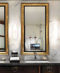 Electric Mirror Bathroom Bagnovision Mirror Tvs Each Mirror Tv Comes With Bluetooth