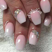 ombré french nails beauty nail art pinterest french nails