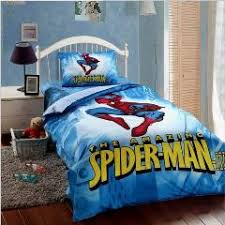 Spiderman Comforter Set Full Kids Spiderman Bedding Set Boys Twin Size Cartoon Quilt Cover