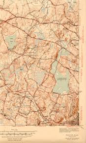Map Of Massachusetts Cities Towns by Historical Maps Waltham