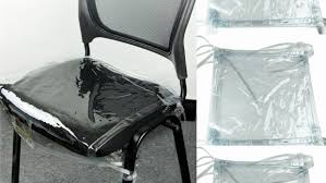 plastic chair covers clear plastic chair covers ocucf chair cover