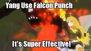 Falcon Punch Meme - rwby falcon punch by amora117 on deviantart