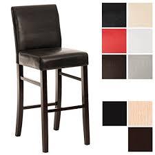tabouret de cuisine en bois clp chaise de bar tabouret de bar en bois alvin avec revêtement en