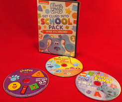 blue u0027s clues clued dvd march 10 thrifty