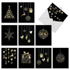 black christmas cards black christmas i want it black
