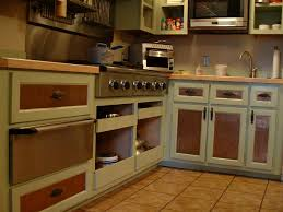 amazing blue vintage kitchen ideas with yellow glass stainless