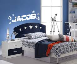 football bedroom wall stickers all about personalised football wall stickers boy bedroom playroom compare prices kids online ping low