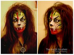 scary the magic brushes face painting in southampton