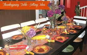 easy thanksgiving table decor idea