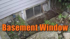 basement window youtube