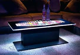 Coffee Tables With Led Lights Led Coffee Table Led Lighted Coffee Table Led Coffee Table