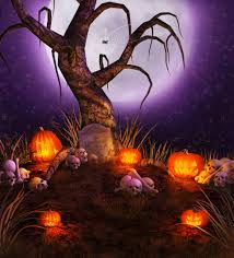 halloween trees pumpkins background compare prices on trees halloween online shopping buy low price