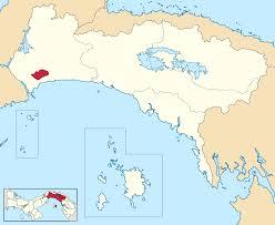 Panama City Map San Miguelito District Wikipedia