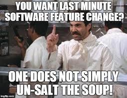 No Soup For You Meme - no soup memes imgflip