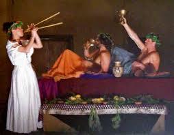 banchetti antica roma banchetti etrusco romani