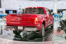 ford first look fabulous motor trend rear end magma red 2018 f 150