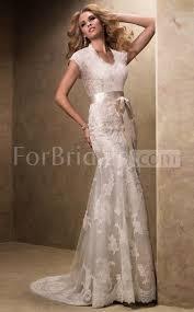 simple elegant mermaid halter sweep train short sleeve zipper lace