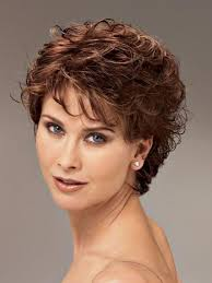 20 best ideas of short haircuts for older women with curly hair