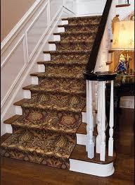 damask md 01 cocoa carpet stair runner