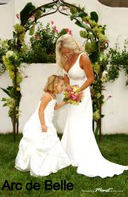 wedding arches rental miami wrought iron wedding arch rentals arc de miami south florida