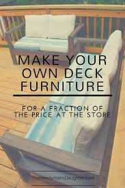 25 best diy outdoor furniture ideas on pinterest outdoor