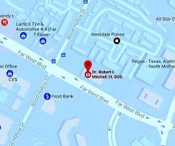 Frost Line Map Austin Dentist Robert Mitchell Dds
