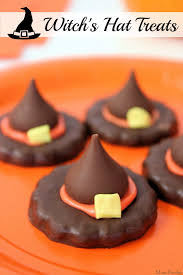 halloween recipes for party witch u0027s hat treats easy halloween party food mom foodie