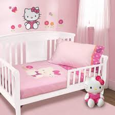 Bedroom Decor White Walls Kids Room Pink And White Wall Colors Also Cute Hello Kitty