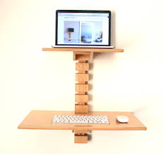 Kangaroo Adjustable Height Desk by Wall Mounted Standing Desk Wall Mount Desks And Walls