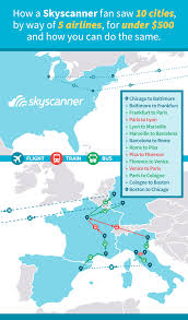 Sky Scanner How To Visit 10 Cities For Less Than 500 With Skyscanner
