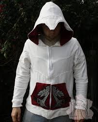 ezio costume spirit halloween mens assassin u0027s creed ezio hoodie jacket costumes pinterest