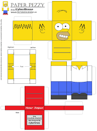 Simpsons Floor Plan Paper Pezzy Homer Simpson By Cyberdrone On Deviantart