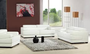 Decoro Leather Sofa by Top White Leather Recliner Sofa Calabria 2 Seater Leather Electric