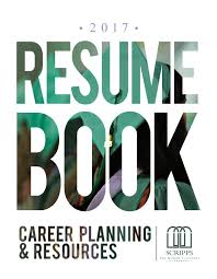 2017 resume book by career planning u0026 resources at scripps college