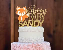 woodland cake topper etsy