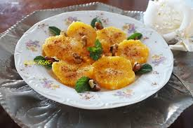 eau de fleur d oranger cuisine dessert oranges des mille et une nuit a la cannelle eau de fleur d