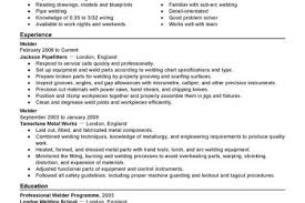 Welding Resumes Examples by Welding Instructor Resume Examples Reentrycorps