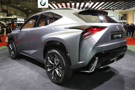lexus suv 2016 nx lexus lf nx concept rear three quarter images 2013 in review