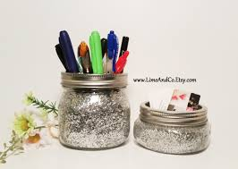 Office Desk Organizers Accessories by Desk Organizer Teacher Gift Desk Accessory Mason Jars