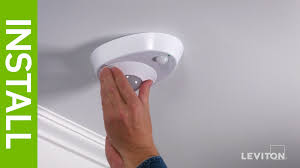 Ceiling Sensor Lights Leviton Presents How To Install The Led Ceiling Occupancy Sensor